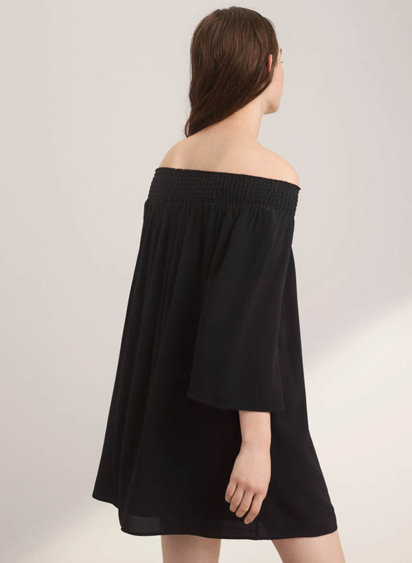 Aritzia Off Shoulder Dress